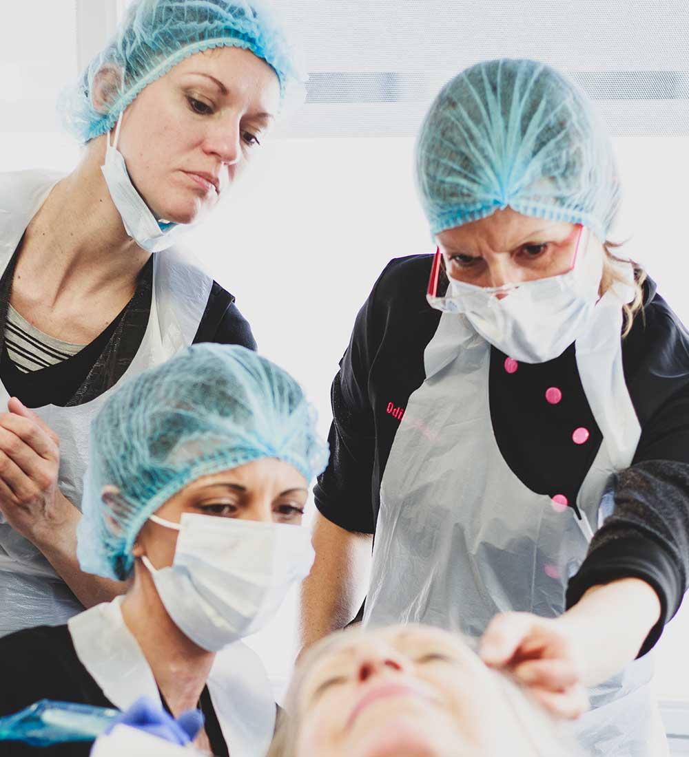 Formation dermographie réparatrice, centre Sublima, Lille