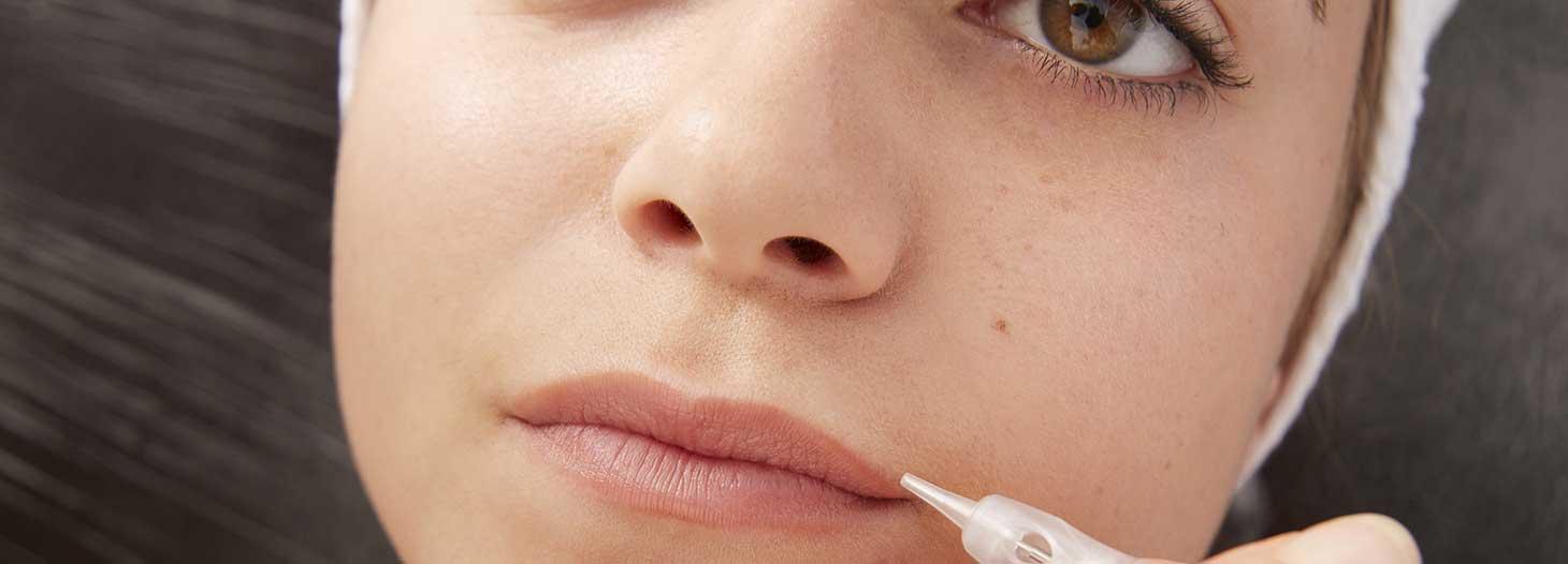 Maquillage permanent de la bouche au centre Sublima, Lille