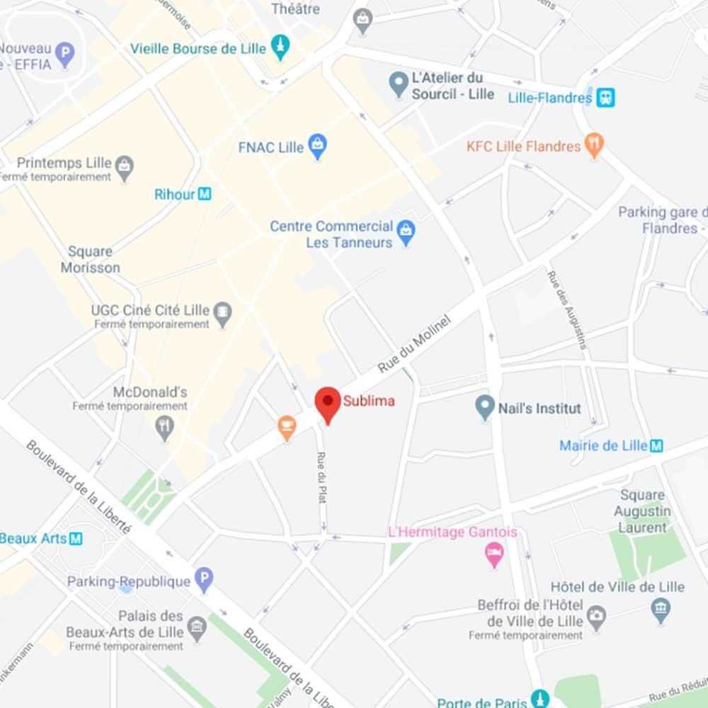 Sublima, 3 rue du Plat, 59800 Lille